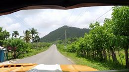 A view from the front of the truck as we head up into the hills for our lunch stop. , Allan - September 2015