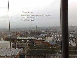 Taken from the Guinness Storehouse Museum with a quote thrown in. , David N - February 2011