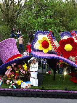 Photo of Amsterdam Keukenhof Gardens and Tulip Fields Tour from Amsterdam Keukenhof Gardens Flower Parade, Holland April 2011
