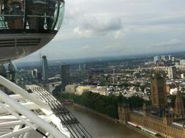 View from the top of the London Eye , Mary Ellen L - August 2012