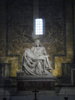 Photo of   Michelangelo's Pietà, St Peter's Basilica