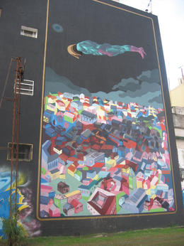 Wall in Buenos Aires., Bandit - October 2012