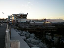 view of resturant on the warf - November 2009