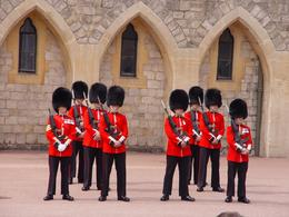 Changing of the guard Windsor Castle, Brian B - September 2010