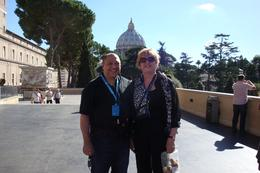 Photo of Rome Skip the Line: Vatican Museums Walking Tour including Sistine Chapel, Raphael's Rooms and St Peter's A View of the gardens within the Vatican Museum Grounds