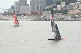 Photo of San Francisco Jail and Sail: Alcatraz Tour and Sunset Bay Cruise America's Cup win U.S.A.