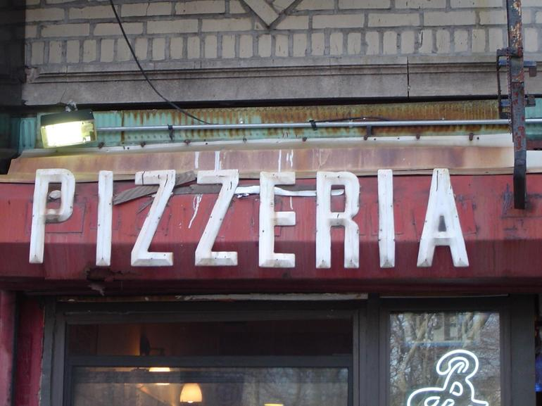 An old Pizzeria in Williamsburg Brooklyn - New York City