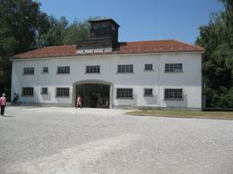 Entrance to Dachau concentration camp, Richard S - August 2010