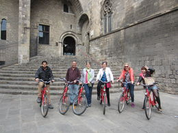 Photo of Barcelona Barcelona Half-Day Bike Tour group photo