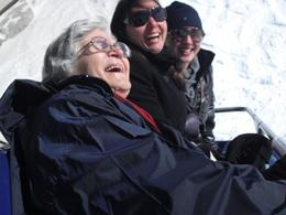 my 72 year old mum having the time of her life together with my wife and daughter, Arthur B - April 2010