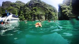 Photo of Phuket Phang Nga Bay Day Trip from Phuket by Speedboat Just keep swimming!