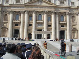 Photo of Rome Papal Audience Tickets and Presentation Our view