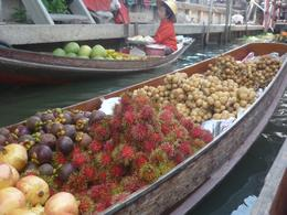 Photo of Bangkok Floating Markets of Damnoen Saduak Cruise Day Trip from Bangkok Fruits at Floating Market