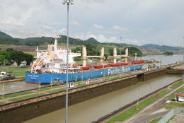 Photo of   Panama Canal in Action