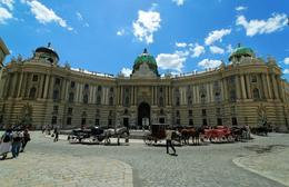 Photo of   Rear view of Hofsburg Imperial Palace in Vienna