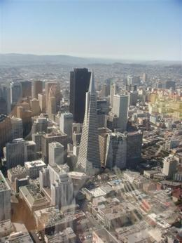 Birthday trip over San Francisco. Great trip, got to sit beside pilot!!!! - August 2008