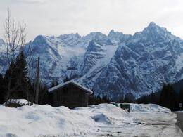 Photo of Venice Dolomite Mountains Small Group Day Trip from Venice Snow 4