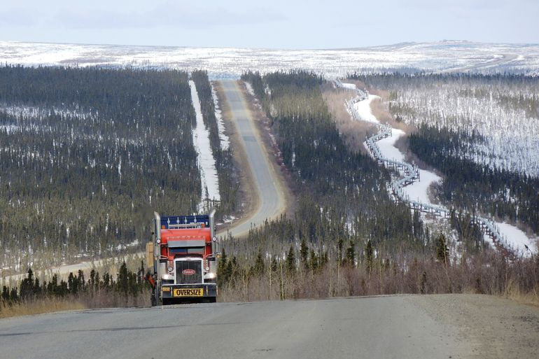 The Alaskan pipeline, the Dalton Highway and lots of trucks. It was a trip that had been on my bucket list for years and it was exactly what I had expected.
