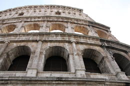 Photo of Rome Rome Super Saver: Colosseum and Ancient Rome with Best of Rome Afternoon Walking Tour The outside of the Colosum