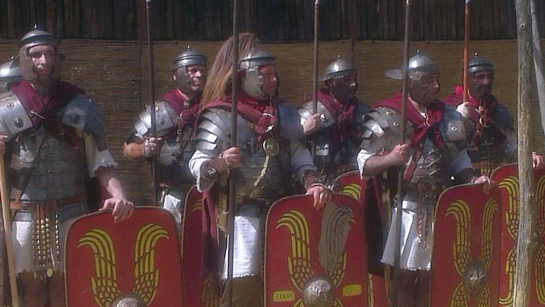 The real troops arrive - Rome