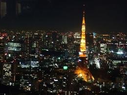 Tokyo Tower from the Mori Tower., Marceline S - October 2007