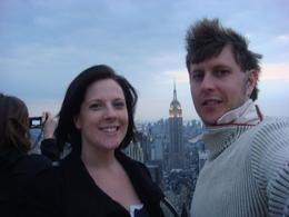 you can see the empire state building from the top of the rock - May 2010