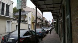 Photo of   Typical street in the French Quarter