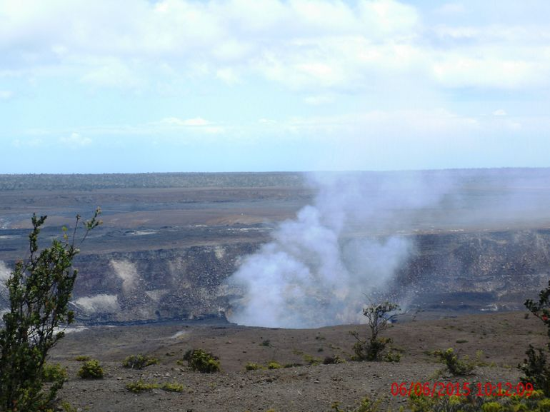 Active volcano on the Big Island of Hawaii