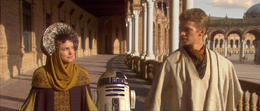 Photo of   Anaikin  and  Padme in Seville
