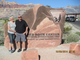 Photo of Las Vegas Red Rock Canyon Tour At the start of the scenic tour