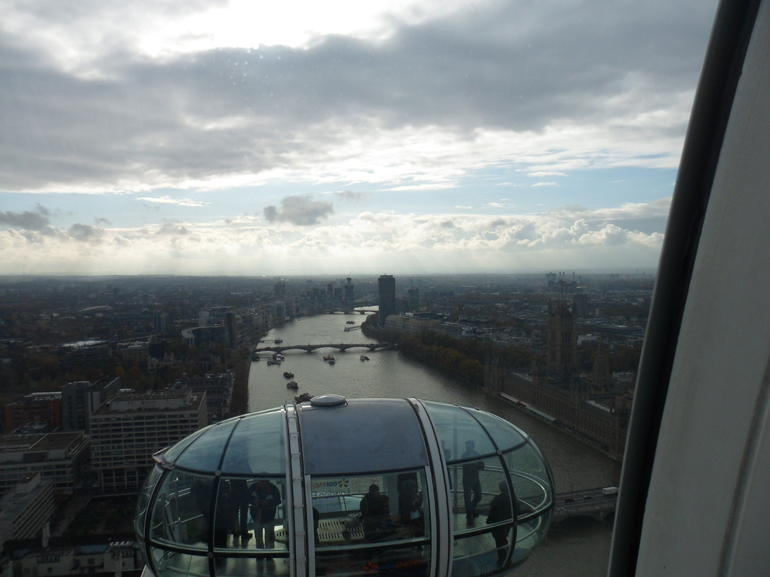 At the very top! - London