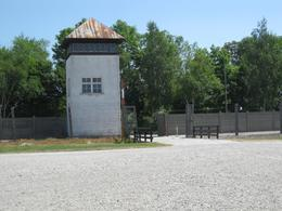 Guard tower dachau concentration camp, Richard S - August 2010