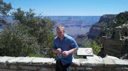 Paul at the Grand Canyon, Mykie - July 2011