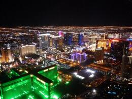 Photo of Las Vegas Las Vegas Night Strip Helicopter Tour excellent view of Las Vegas