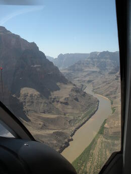 Photo of Las Vegas Grand Canyon Helicopter Tour from Las Vegas Flying into the Grand Canyon