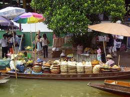 Photo of Bangkok Floating Markets of Damnoen Saduak Cruise Day Trip from Bangkok hats