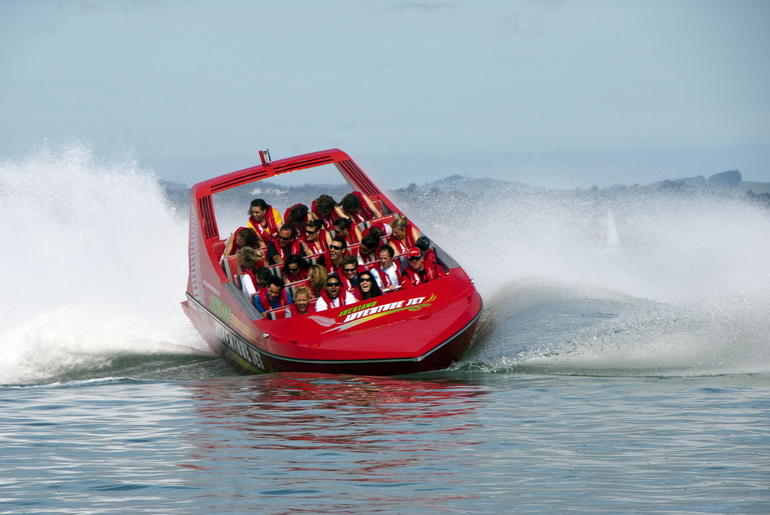 Jet Boat ride, Waitemata Harbour, Auckland -