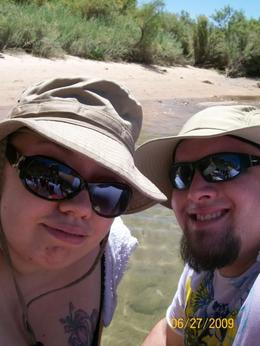 Us on the Black Canyon Rafting Tour, JEAN F - December 2010