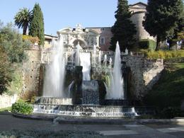 Photo of Rome Hadrian's Villa and Villa d'Este Half-Day Trip from Rome One of many fountains