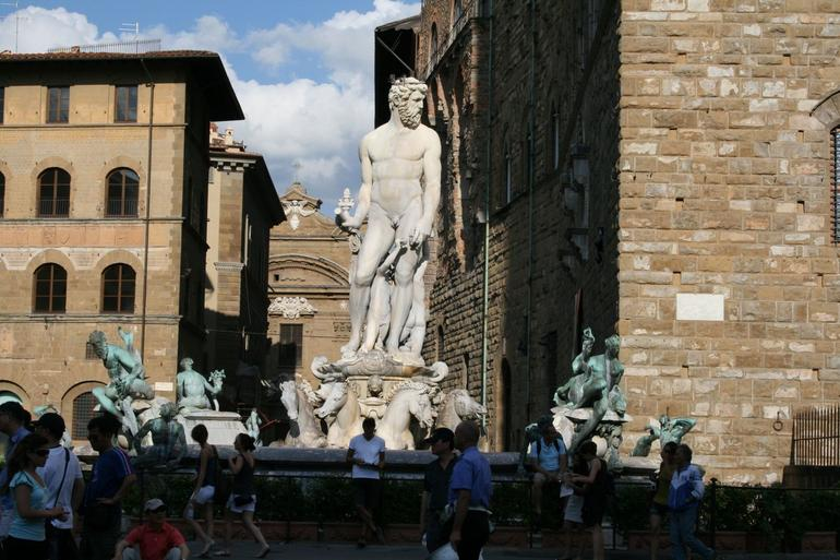 Outside of the Uffizi - Florence