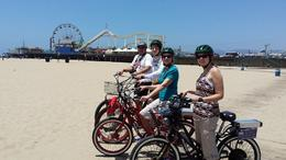 Photo of Los Angeles Electric Bicycle Tour of Santa Monica and Venice Beach Pier Fun
