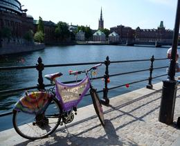 Introduction to the bikes of Stockholm , Michael P - August 2014