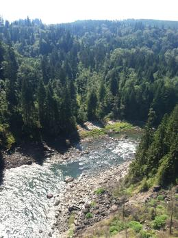 The view from Snoqualmie Falls , Peter Y - September 2012