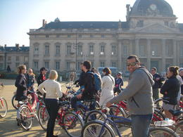 Photo of Paris Paris Bike Tour The First Stop!!