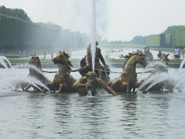 Fountains of Versailles come to life as Baroque Music plays throughout the Gardens , Deborah R - July 2013