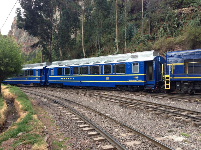 Train to Machu PIcchu - Lima