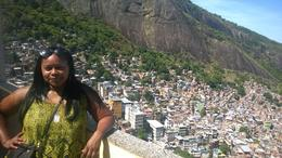 Beautiful view from the hills of the favela. , kedove - April 2014