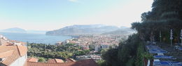View From our Sorrento Hotel , Staniv - November 2015
