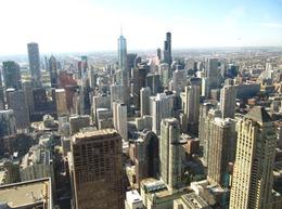 View of Chicago from John Hancock Center, David W - October 2010