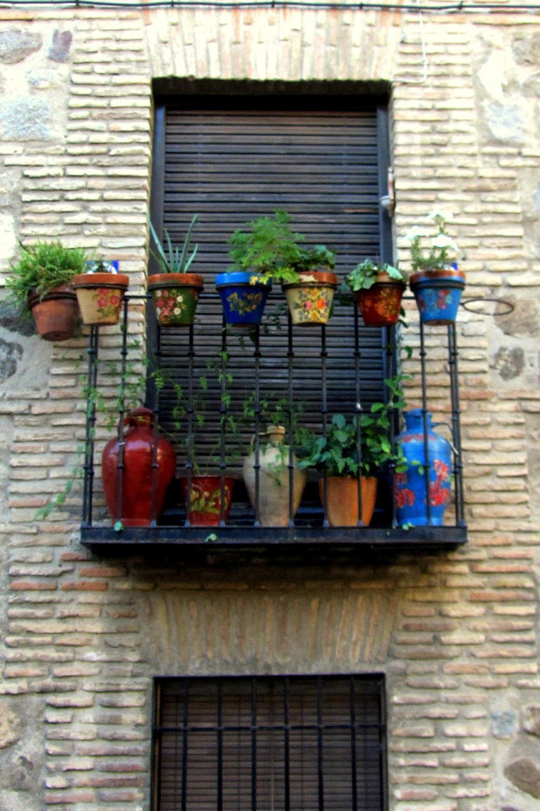 Window in Toledo - Madrid